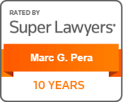 Rated By Super Lawyers Marc G. Pera 10 years