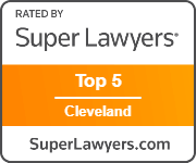 Rated by Super Lawyers Top 5 Cleveland